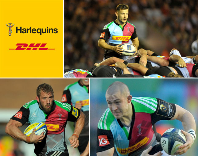 Harlequins partnership with DHL