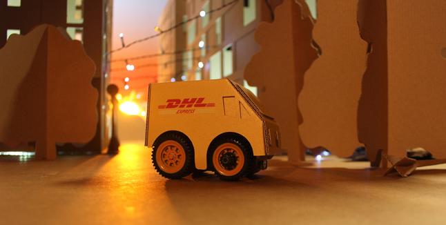 DHL Christmas video