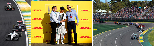Formula 1 British Grand Prix in partnership with DHL