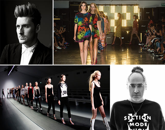London Fashion Week show