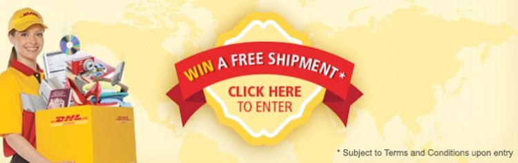 Win a FREE shipment to anywhere in the world