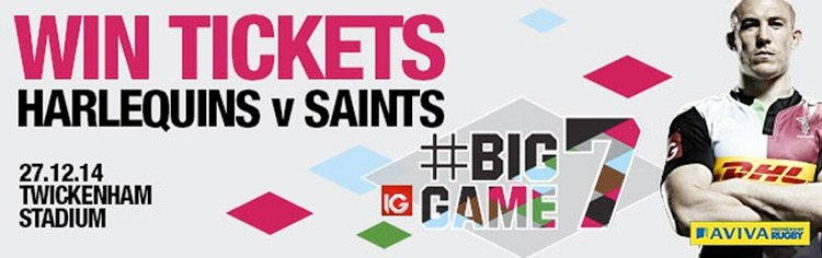 Win a pair of tickets to Big Game 7!