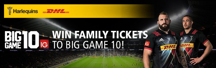 Win family tickets to Big Game 10!