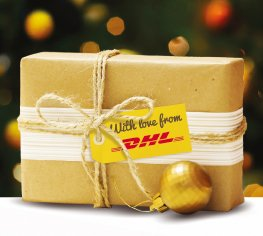 DHL's last posting dates for Christmas 2017