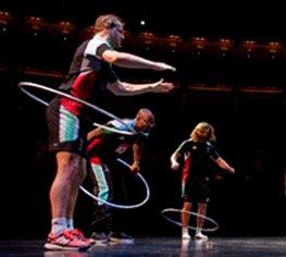 Harlequins meet Cirque du Soleil
