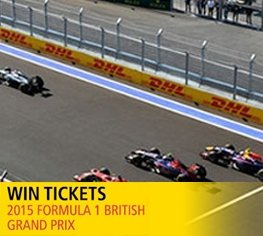 Win a pair of tickets to the 2015 FORMULA 1 BRITISH GRAND PRIX!
