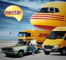 Collect 1,000 Nectar Points when you send internationally with DHL in September
