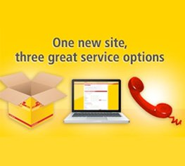 Our new DHL website has arrived!
