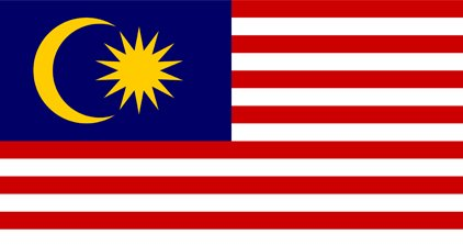Malaysia Country Flag