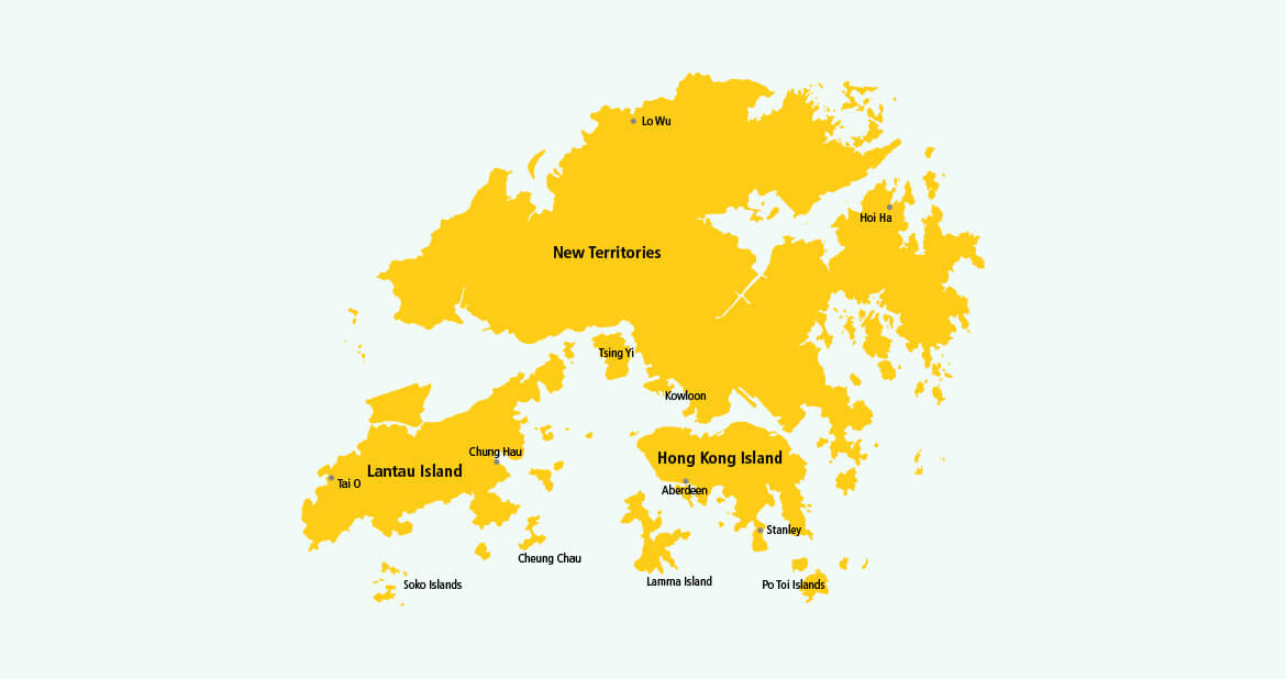 Parcel delivery to Hong Kong with DHL