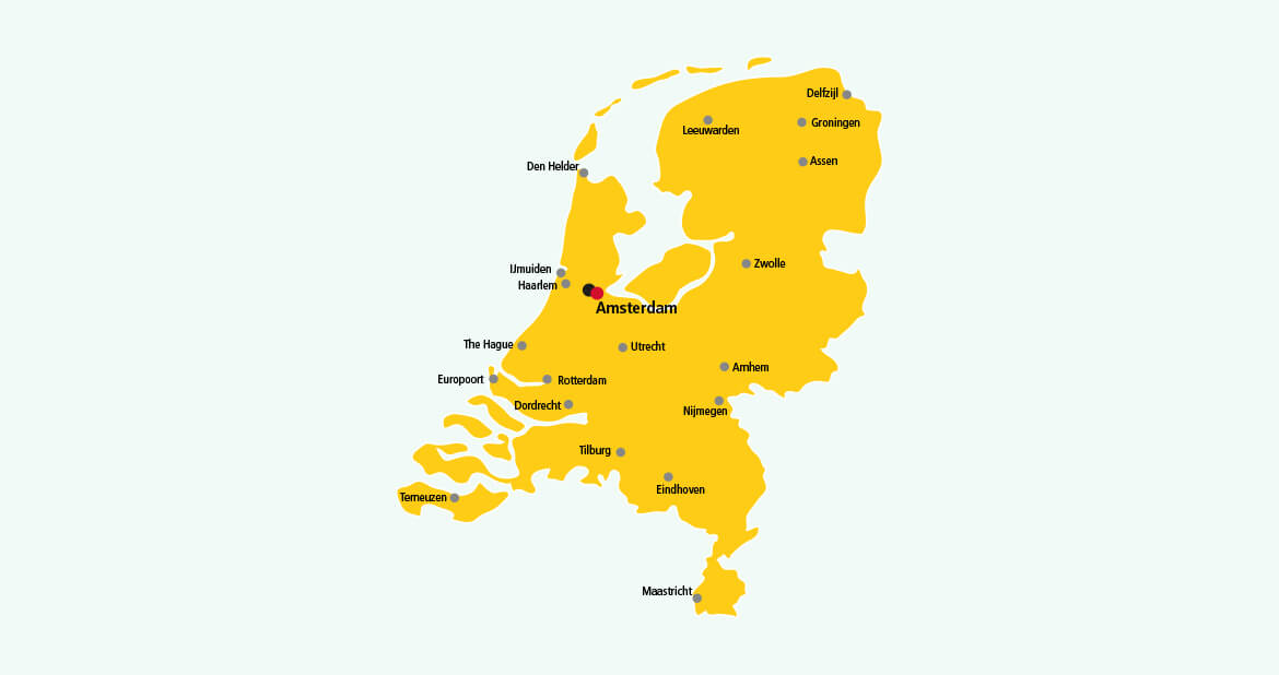 Parcel delivery to Netherlands with DHL