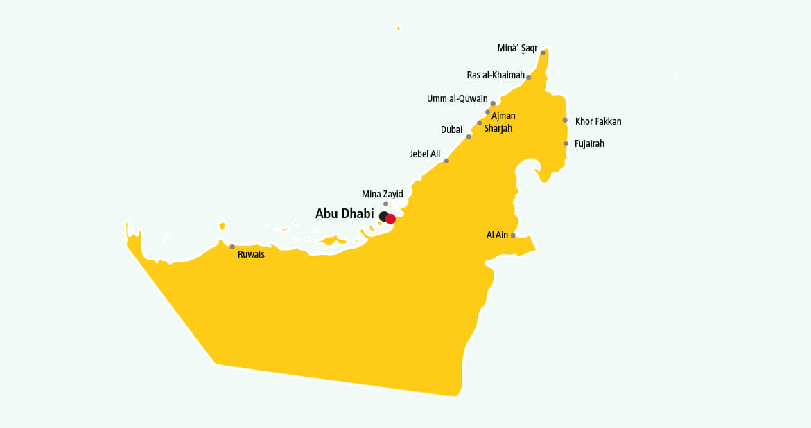 Parcel delivery to United Arab Emirates with DHL
