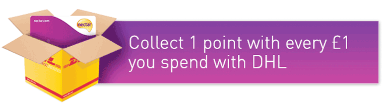 Collect Nectar Points with DHL