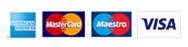 Payment options: American Express, MasterCard, Maestro, Visa